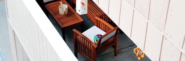 Die verschiedenen Stile  der Balkonmöblierung