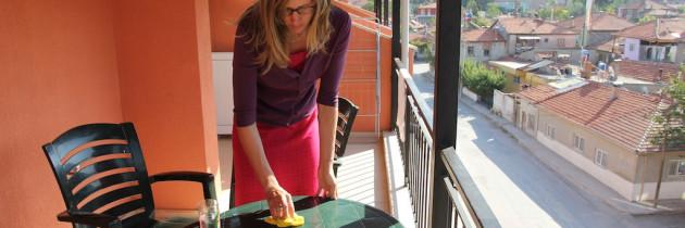 Die Pflege von Balkonmöbeln
