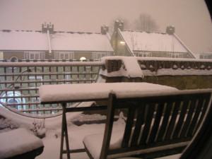 Die Lagerung der Balkonmöbel im Winter