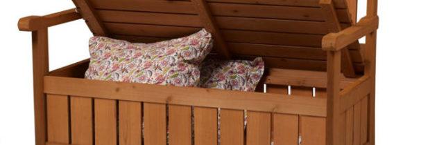 Truhenbank – Ein besonderer Trick für den Balkon