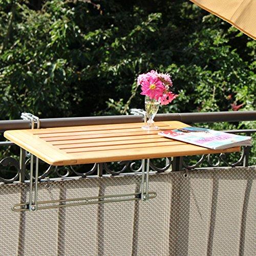 Bambusholz Tisch 50 x 100cm