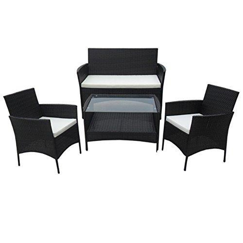 Polyrattan Lounge Balkonmöbelset