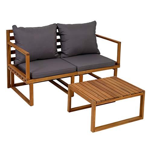 greemotion Balkonmöbel-Set Dijon aus Akazienholz