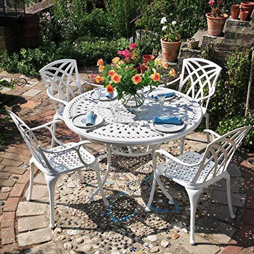 Landhaus Tisch mit 4 Stühlen