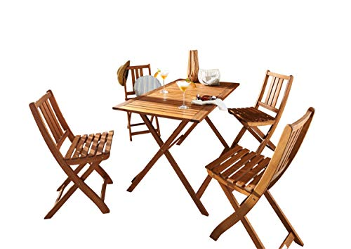 Sam Holstebro Möbelset aus massivem Akazienholz