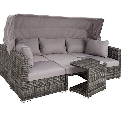 TecTake Poly Rattan Lounge Se